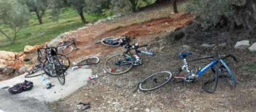 Giant Alapecin accident en Espagne