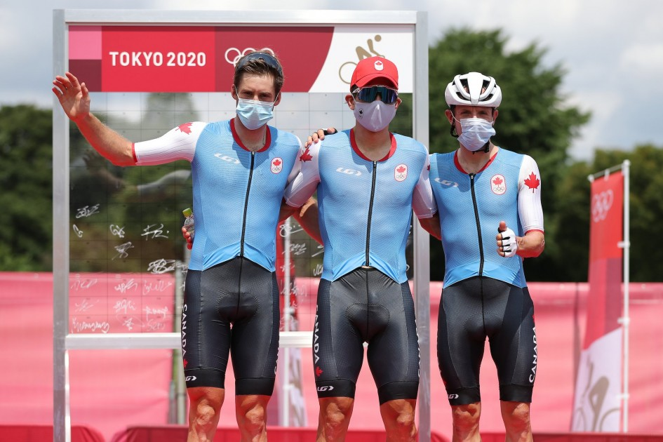 olympic tokoyo 2020 Mike woods Guillaume boivin